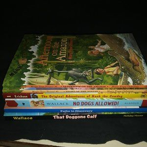 Other - Boys Chapter Books 6 in All Great for Home School
